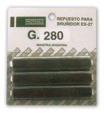 JGO DE PIEDRAS P/EX27  GRA 280
